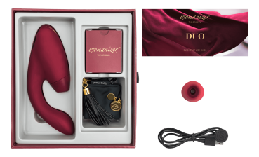 WOMANIZER DUO BORDEAUX
